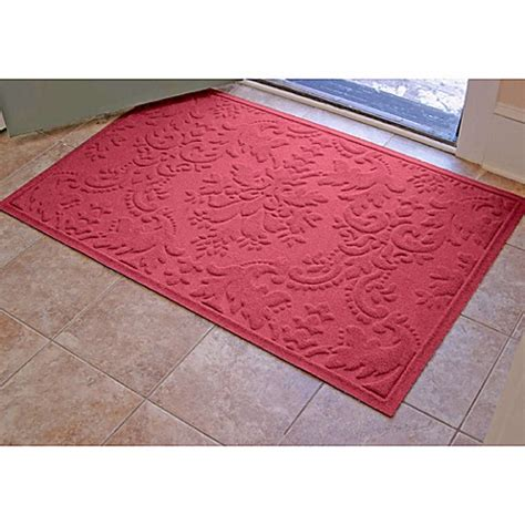 weather guard mats weather guard damask 34 inch x 52 inch door mat bed