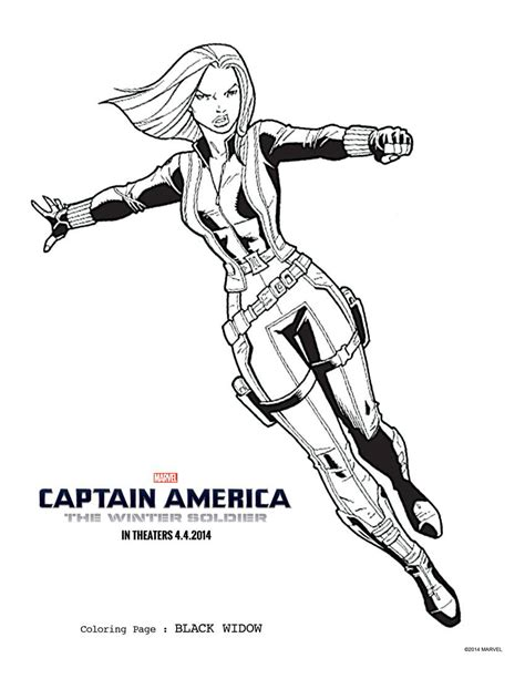 winter soldier coloring pages   print