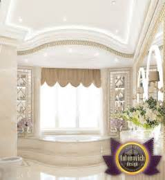 The bathroom interior of Luxury Antonovich Design by