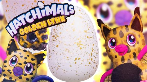 Hatchimals Golden Lynx 2017 Walmart Exclusive