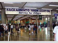 Sacramento Charter High School Opening Day St HOPE