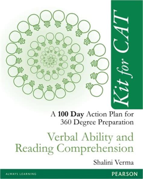 Books For Preparation Of Verbal Ability Section For Cat