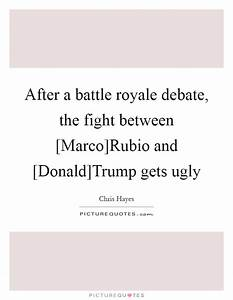After a battle royale debate, the fight between [Marco ...