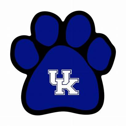 Kentucky Clipart Wildcats Svg Paw Dog Graphics