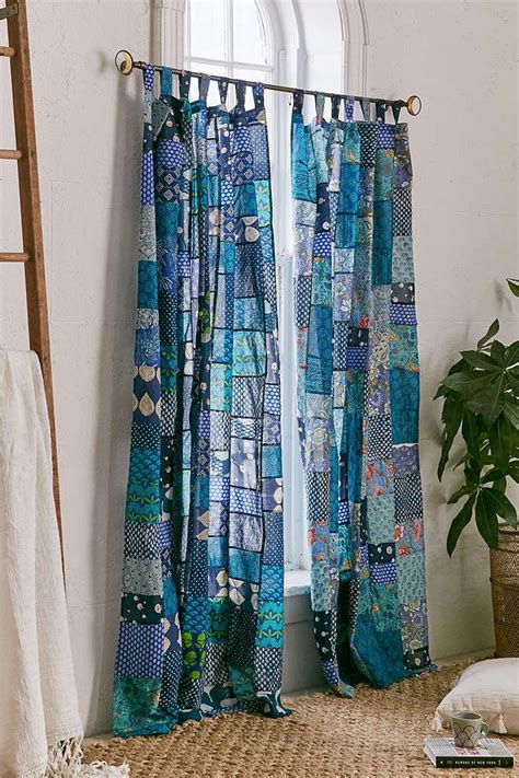 magical thinking patchwork curtain home patchwork curtains curtains drapes curtains