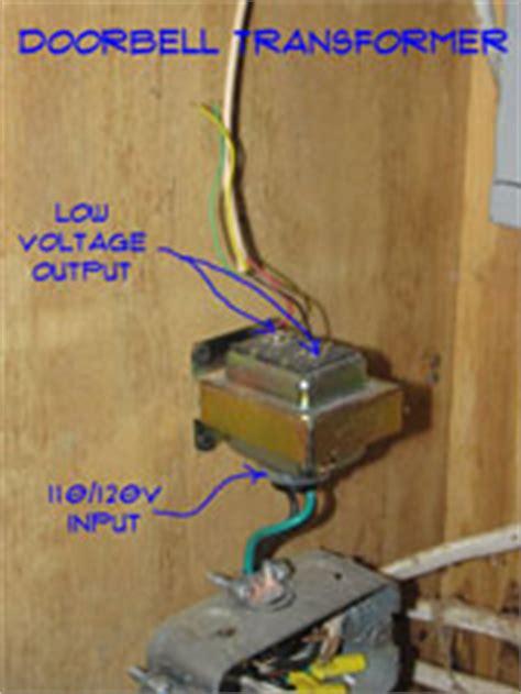 wiring doorbell transformers doorbells electrical