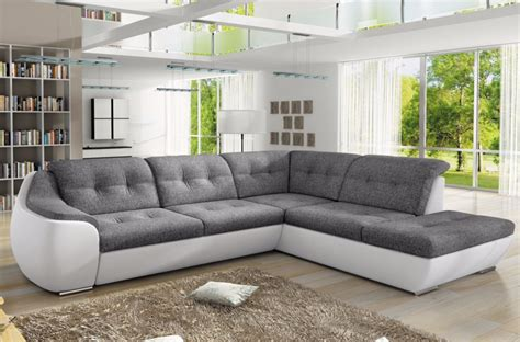 Corner Sofa Beds With Storage In Leather And Fabric