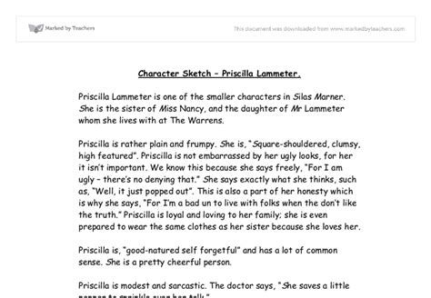 character sketch essay  mother character sketch