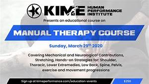 Manual Therapy 1-day Course