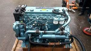 2005yr Perkins M130c 130hp Marine Diesel Engine