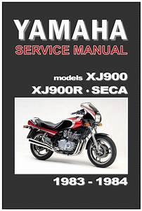 Find Yamaha Workshop Manual Xj900 Xj900r Xj900p Seca 1983