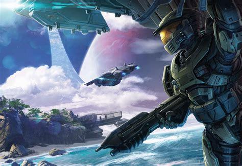 Halo Conflict Artwork 5k, Hd Games, 4k Wallpapers, Images