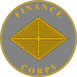U.S. Army Finance Corps, regimental insignia - vector image