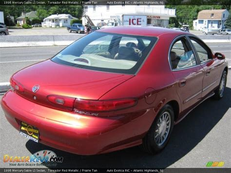 1998 Mercury Sable LS Sedan Toreador Red Metallic ...