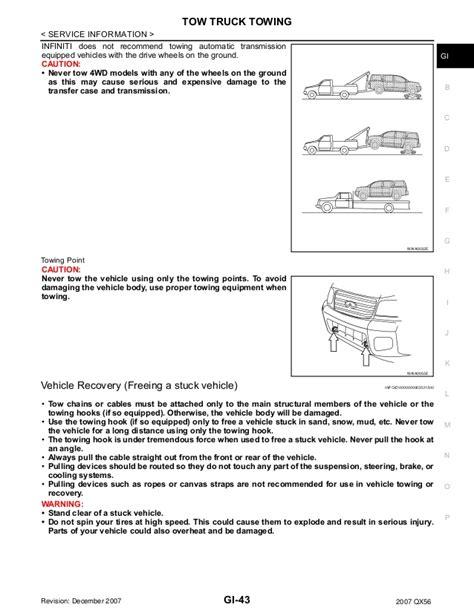 manual repair autos 2007 infiniti qx electronic valve timing 2007 infiniti qx56 service repair manual