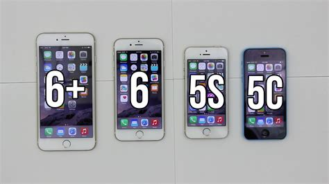 iphone 5s vs 6s iphone 6 plus vs 6 vs 5s vs 5c comparison