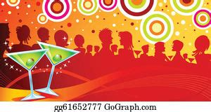dinner party clip art royalty  gograph