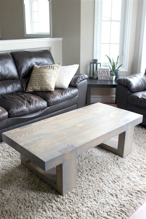 This elegant rectangular coffee table has a top that is made up of frosted lacquered glass inserts, and its wooden body and legs give it an inimitable appeal. 21 Unique DIY Coffee Tables Ideas and Plans - The House of ...