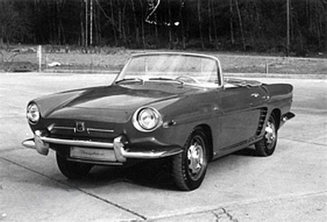 renault dauphine convertible the history and development of the renault caravelle