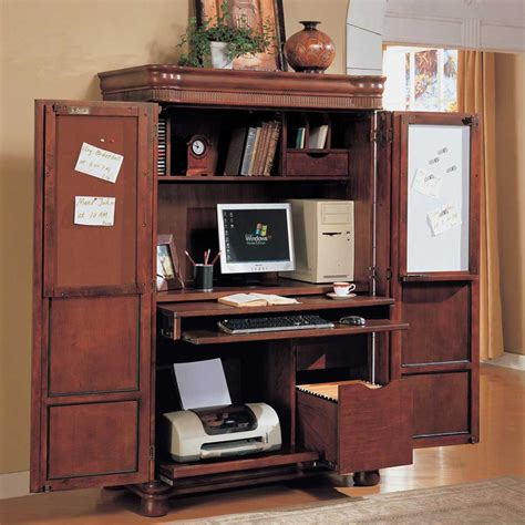 Desk Armoire  Milton Milano Designs  Make An Desk Armoire