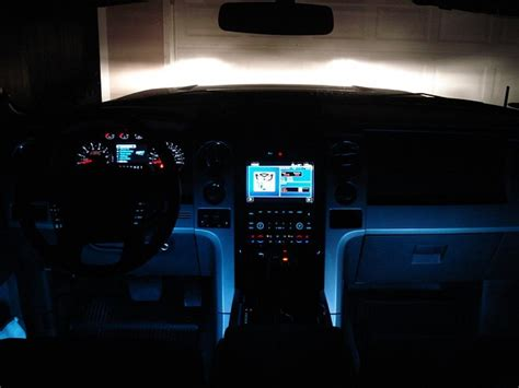 led ambient lighting ford  forum community  ford