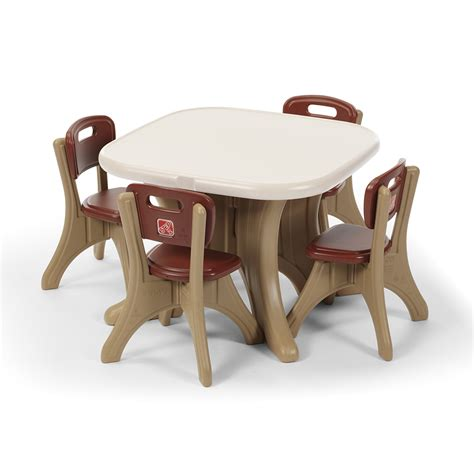 step2 table and chair set new traditions table and four chairs set step2