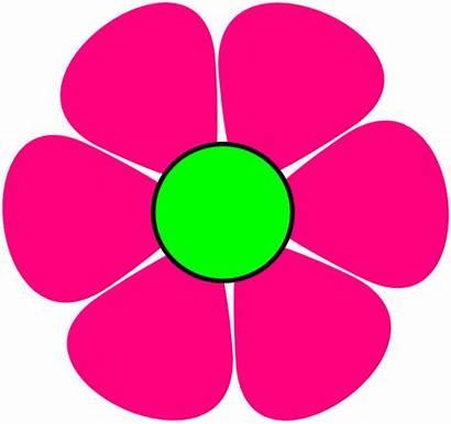 Pink Flower Clip Clipart Clker