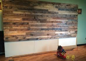 faux wood walls how to distress wood create a faux pallet wall time for a project