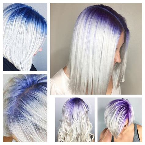 grey hair  roots ideas  pinterest colored