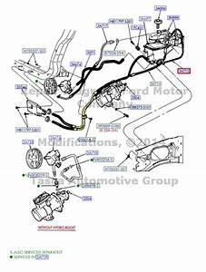 Brand New Oem Power Steering Return Hose Ford Excursion