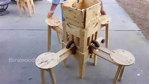 Wow, Incredible Folding Table! - YouTube