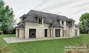 Construction Maison En Pierre : construction d une maison a saint etienne la thillaye ~ Melissatoandfro.com Idées de Décoration