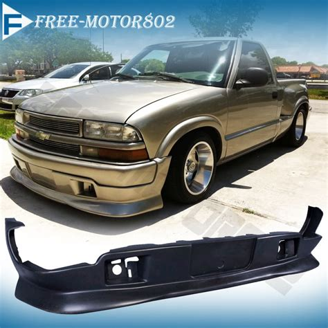 Chevy S10 Extremes by 98 04 Chevy S10 Gmc Style Pu Urethane Front Bumper