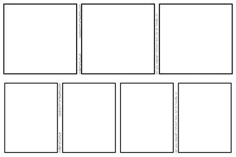 Comic Strip Templates 3-panel And 4-panel By Rcdg On