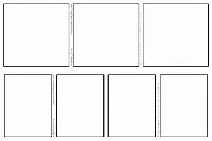 comic strip templates 3 panel and 4 panel by rcdg on With four panel comic strip template