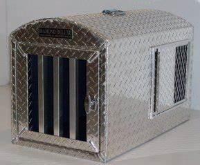 amazoncom diamond deluxe aluminum dog crate dog With diamond dog house