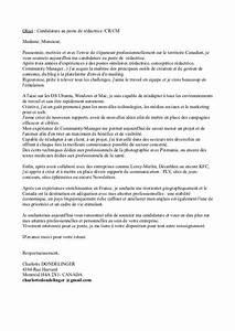 1 Patronal La Poste : ma lettre de motivation ~ Premium-room.com Idées de Décoration