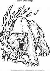 Coloring Tattoo Bear Adult Statue Lion sketch template