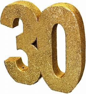30 Dinge Zum 30 Geburtstag : 30 teile set zum 30 geburtstag oder jubil um party deko in schwarz gold ~ Sanjose-hotels-ca.com Haus und Dekorationen