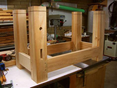 wooden work bench legs  woodworking