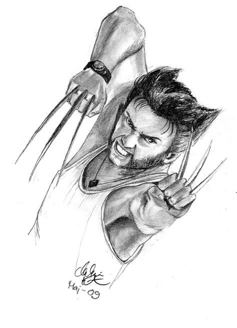 Wolverine Sketch By Novila On Deviantart