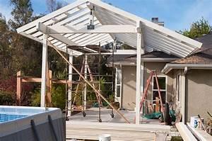 abri de terrasse en bois comment en creer un With abri de terrasse en toile
