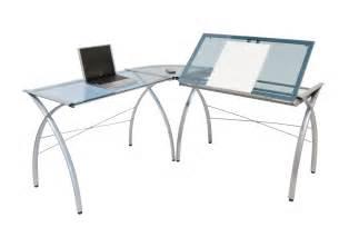 studio designs futura l shaped desk with tilt 50306