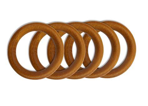 anneaux bois diametre  mm pour tringle  rideaux lot de