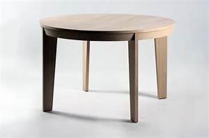 table ronde de salle a manger avec rallonge brin d39ouest With meuble salle À manger avec table salle À manger ronde À rallonge