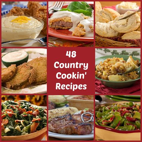 Country Cooking 48 Bestloved Southern Comfort Recipes