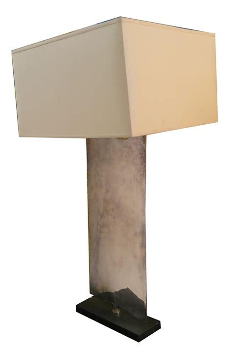 porta romana lighting porta romana nickel plated waterfall table l