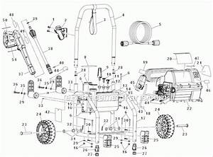 Ryobi 2000 Psi Pressure Washer Parts List