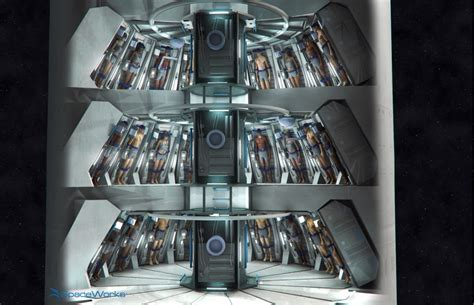 SPACE TORPOR: Mars Colony Transfer Habitat Design Preview