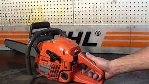 The Chainsaw Guy Shop Talk Husqvarna 350 Chainsaw 8 1